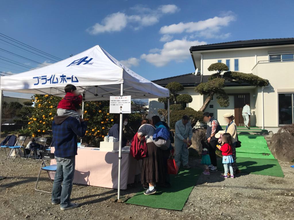 三島市プライムホームの見学会