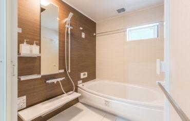 ゆったりと寛げる上品な浴室