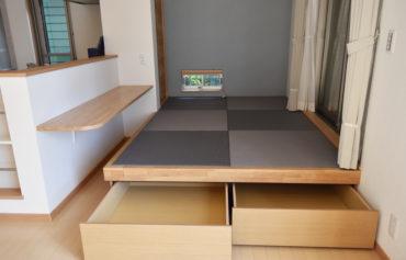 収納力のある小上がり和室