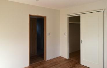 収納スペースを取り入れた空間