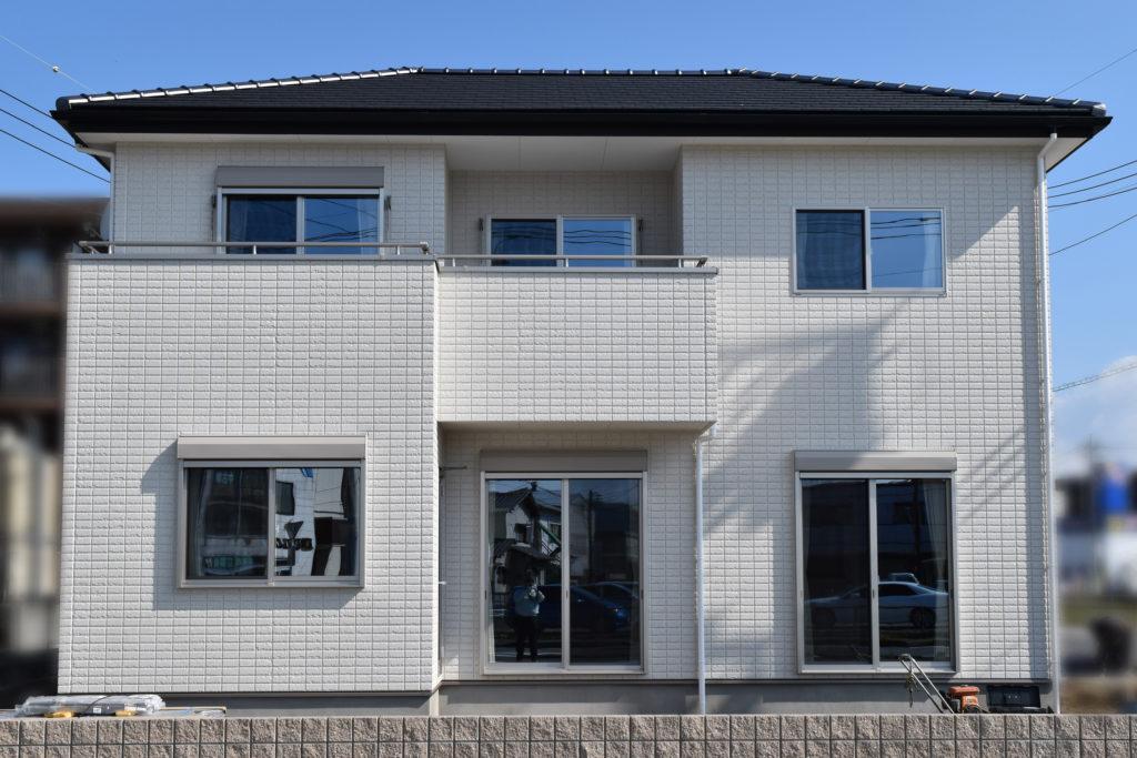 2019年4月18日に社内検査を実施した新築住宅の外観