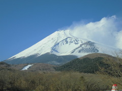 二号目から見る富士山
