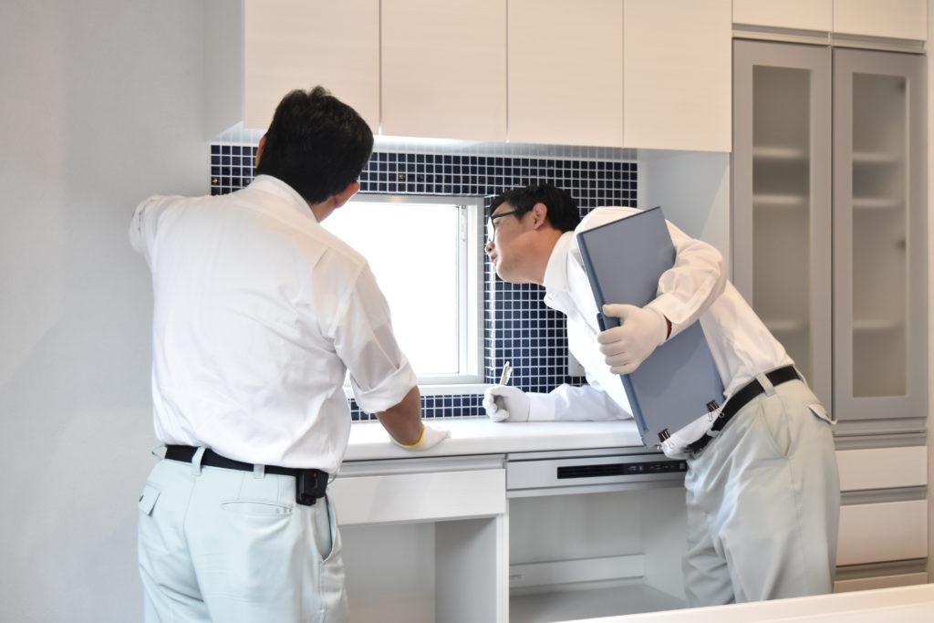 2019年6月14日社内検査にてキッチン回りを確認