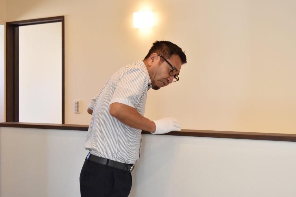 2019年6月17日社内検査にて階段廻りの確認