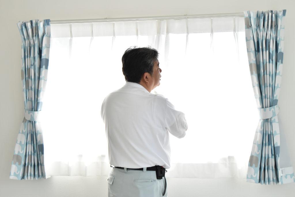 2019年6月20日窓を社内検査