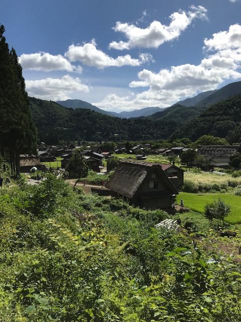 2019年長野県の白川郷