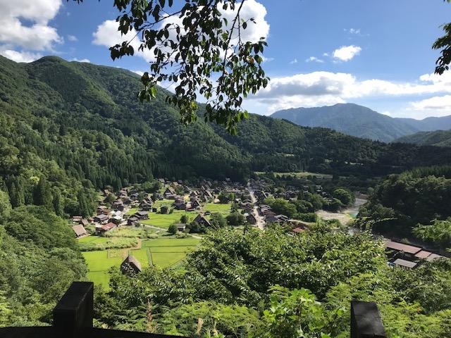 2019年長野県にある世界文化遺産の白川郷