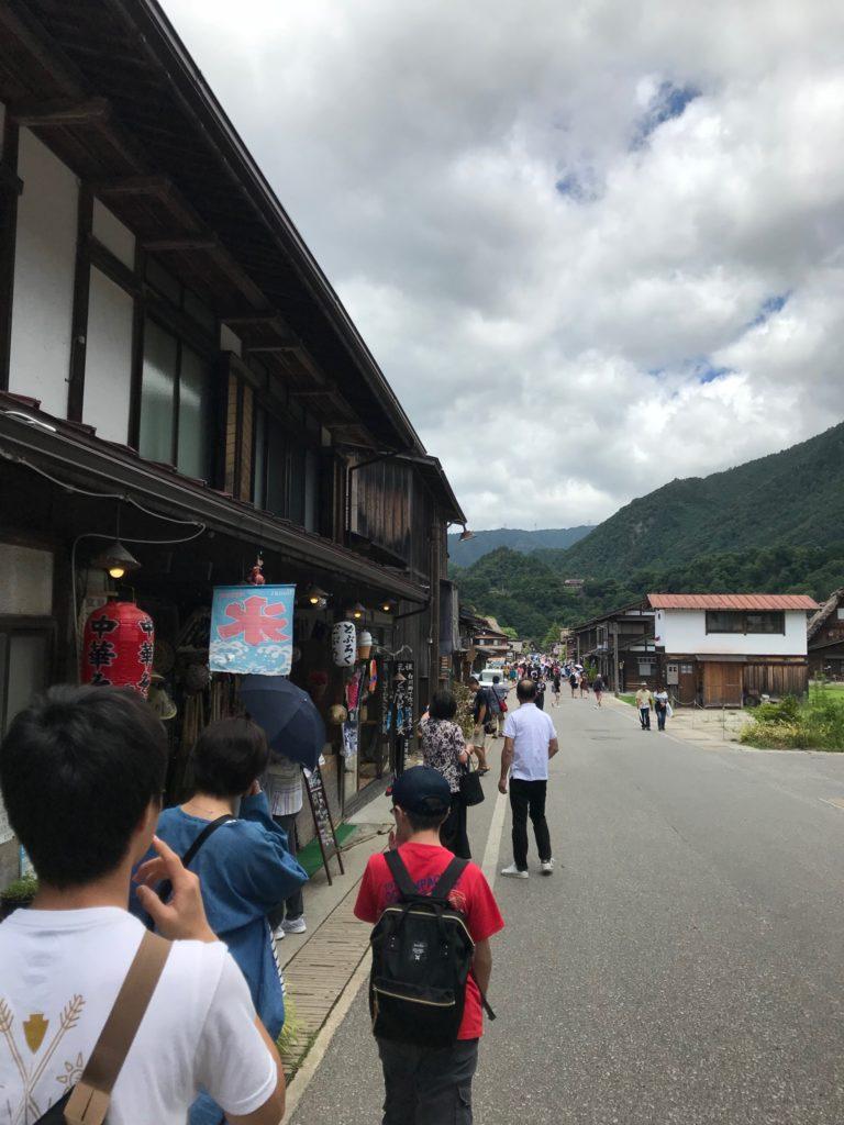 2019年長野県白川郷にて旅行
