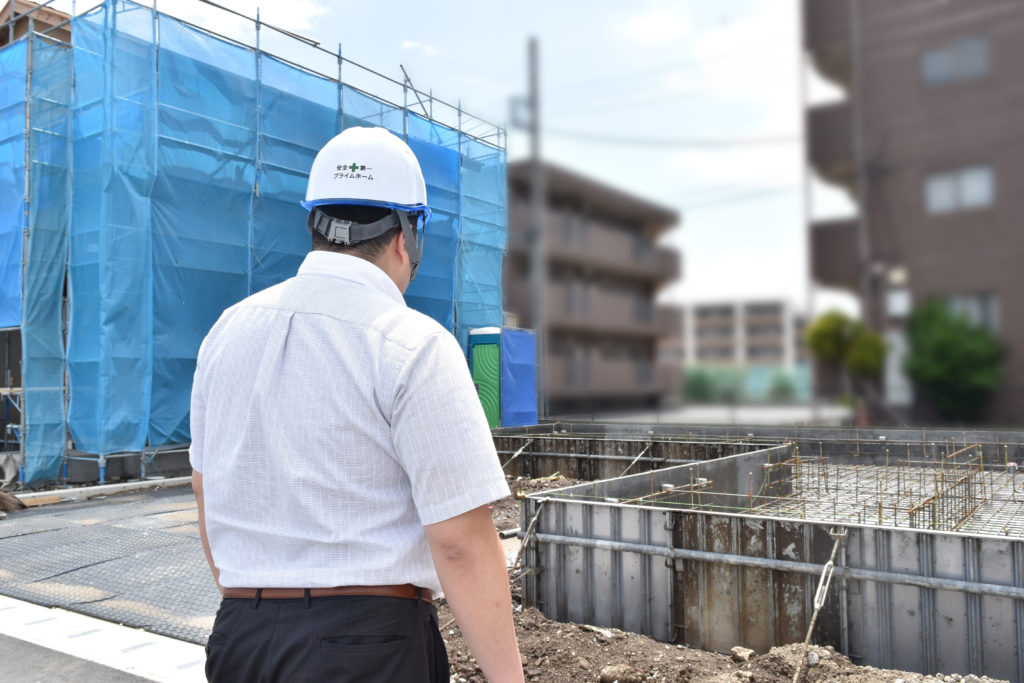 2019年6月11日基礎工事の現場を確認