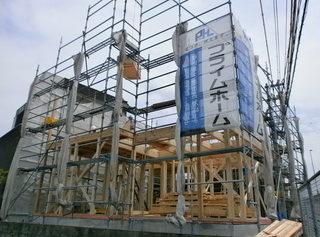 三島市M様邸の上棟写真