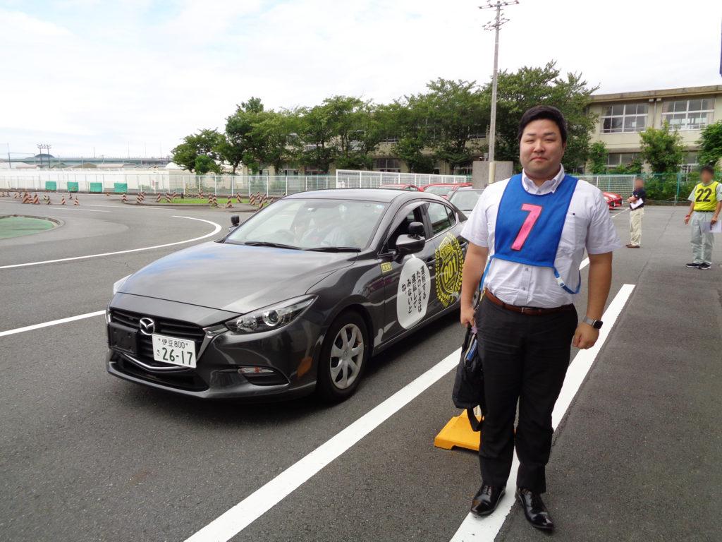 2019年7月8日セーフティドライバーズコンテストに参加した加藤