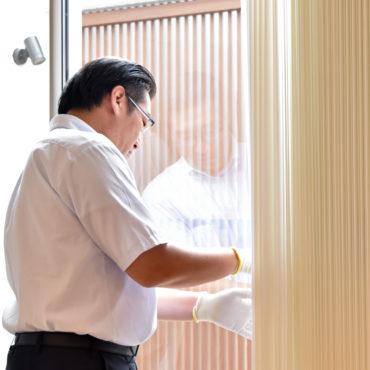 2019年7月18日社内検査で窓を確認している様子
