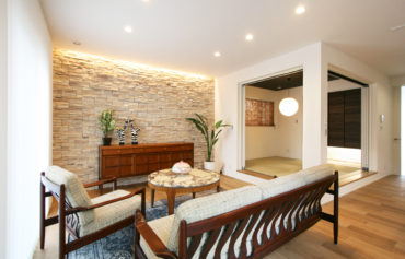 小上がり和室を採用した立体感のあるお洒落な空間
