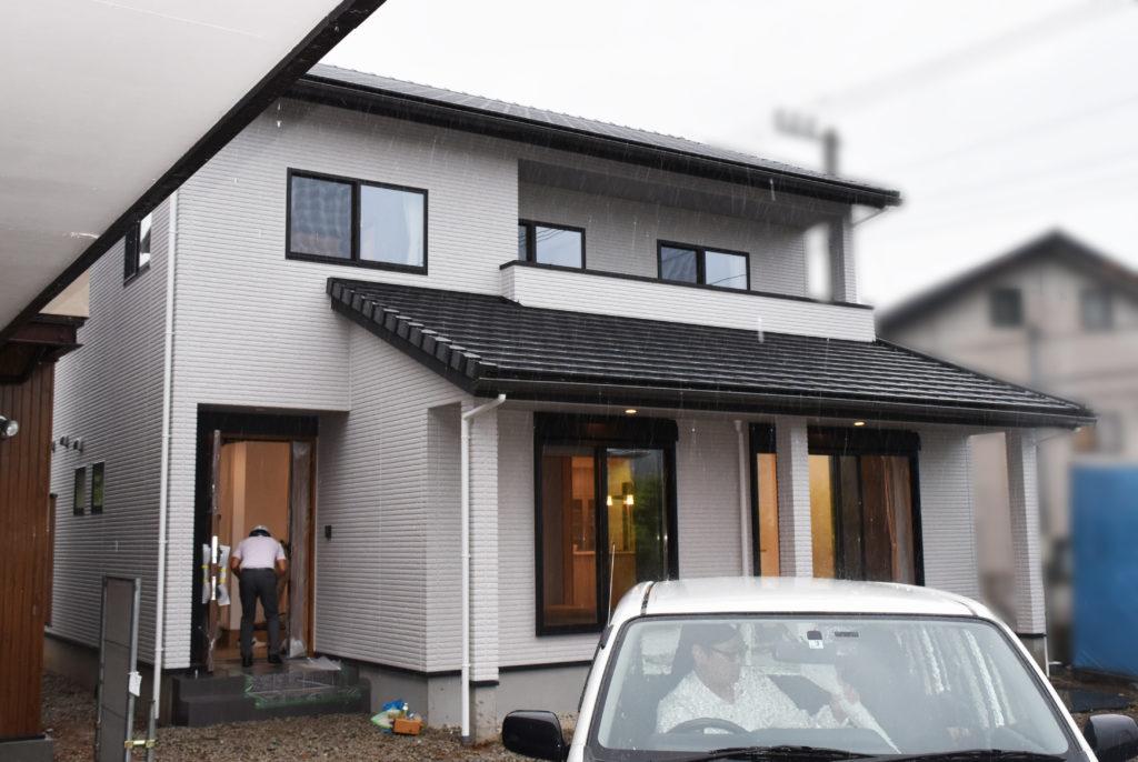 2019年8月30日社内検査を行った新築住宅