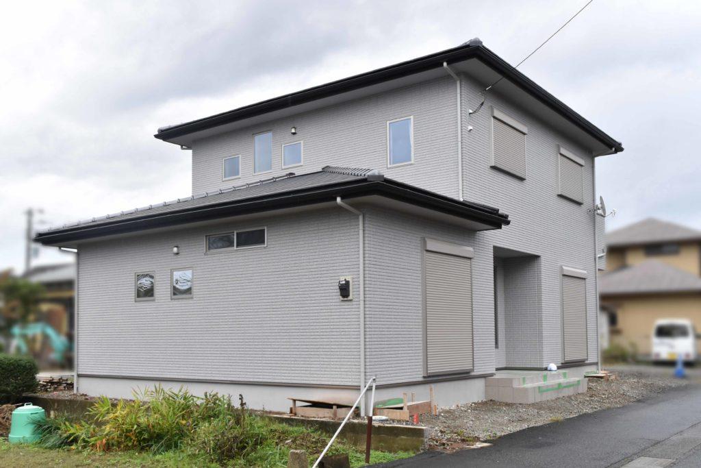 2019年10月22日社内検査を行った新築住宅の外観