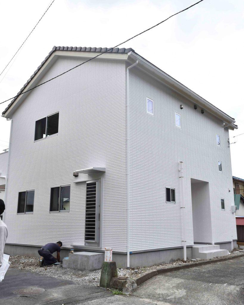2019年10月24日に社内検査を行った新築住宅