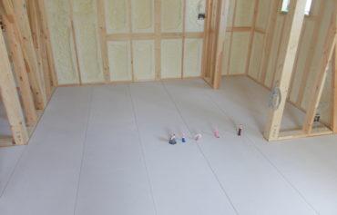 遮音対策の床テック施工後その1