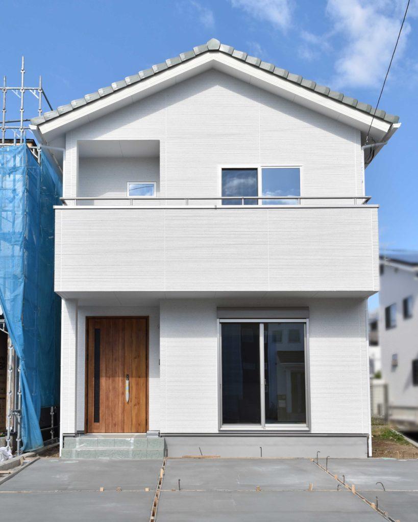 2019年11月7日社内検査を行った新築住宅