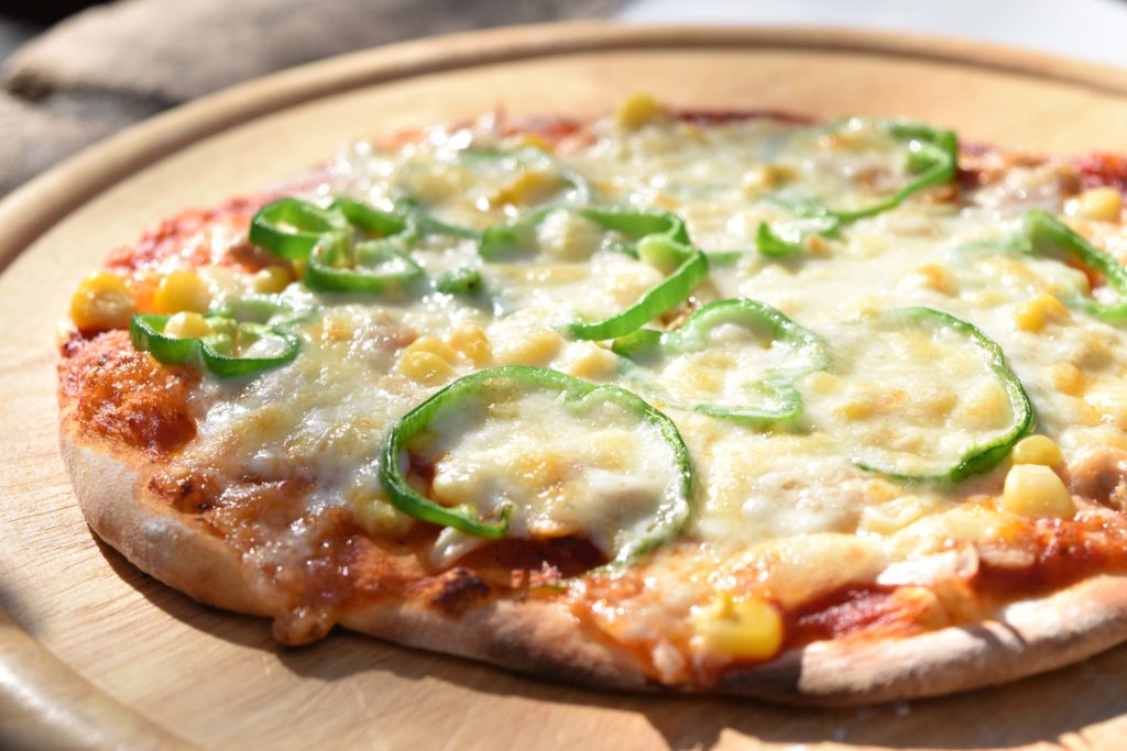 2019年11月19日石窯で焼いた手作りピザ