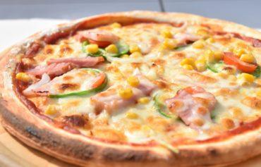 2019年10月31日焼きたてのピザ