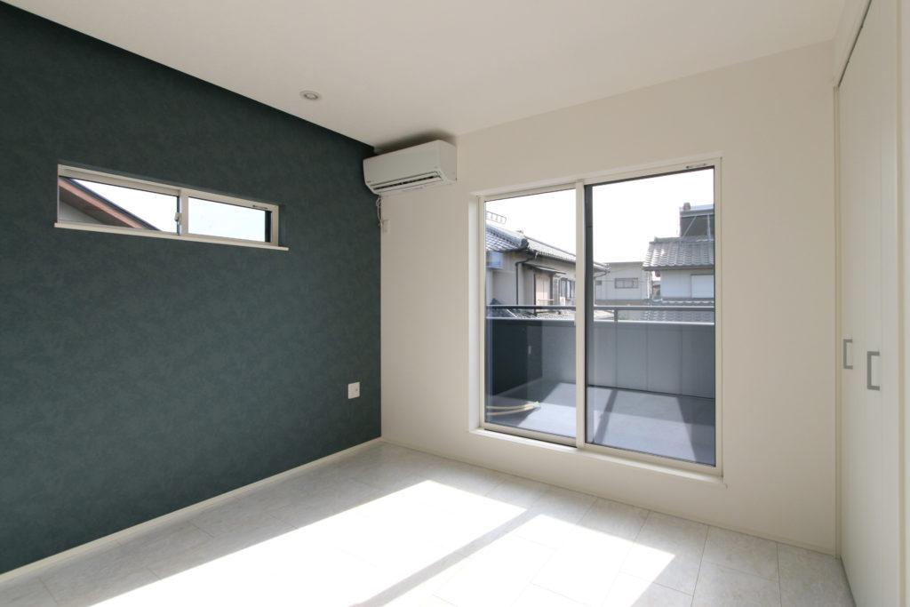 2019年10月31日社内検査を行ったバルコニーが併設する主寝室
