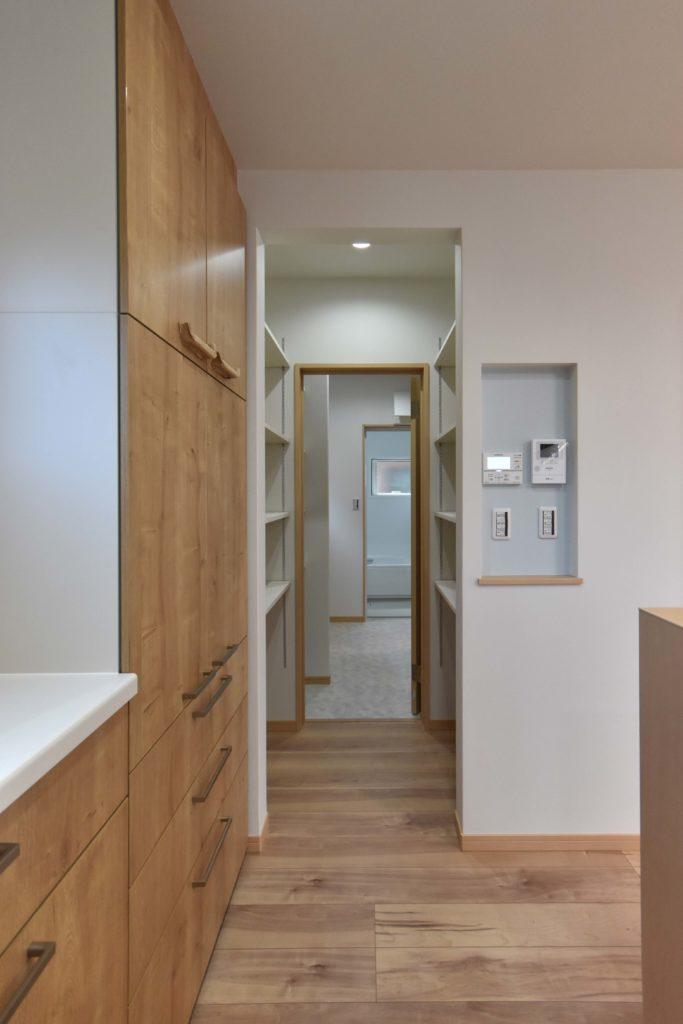 2020年4月23日実施の社内検査2件目にて検査を行ったキッチン、パントリー、洗面脱衣室、浴室
