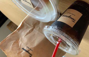 CAFE&BARu掌のテイクアウトできるユーリンチー丼