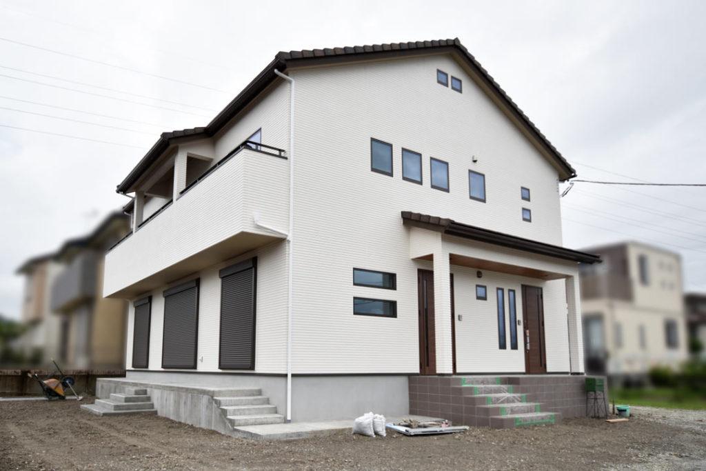 2020年7月27日社内検査_伊豆の国市の新築住宅O様邸_二世帯住宅