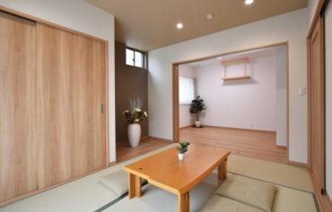 客間としても最適!ゆったりくつろげる憩いの空間です。