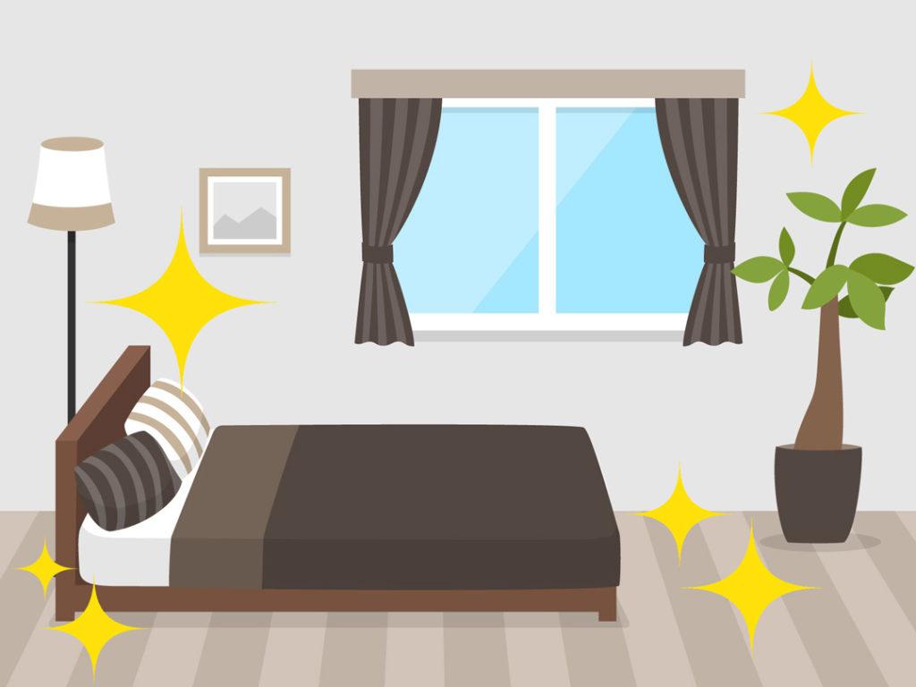 綺麗な部屋のイラスト
