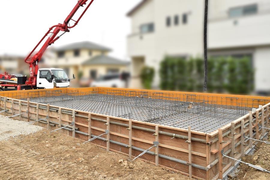 2020年10月15日伊豆の国市K様邸の土台工事