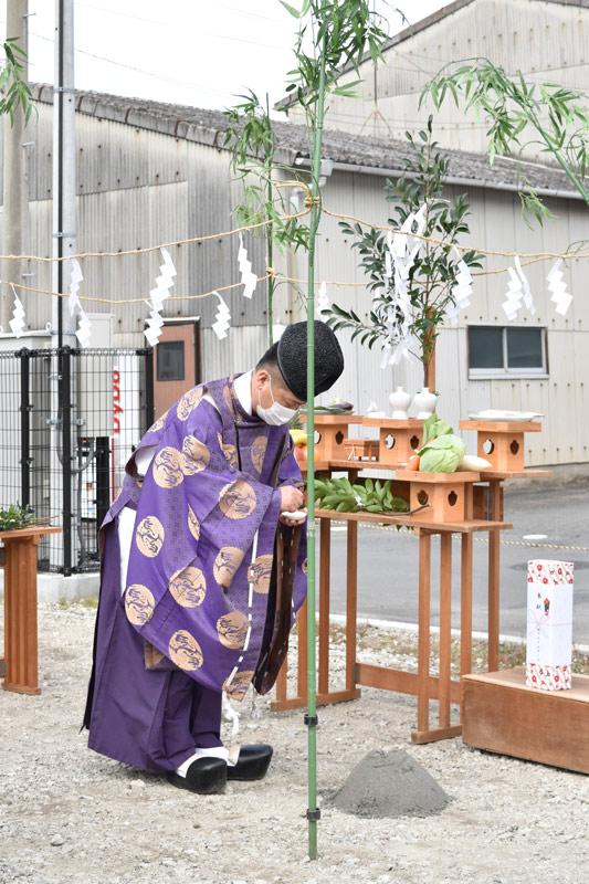 2020年11月6日三島市M様_地鎮祭の様子