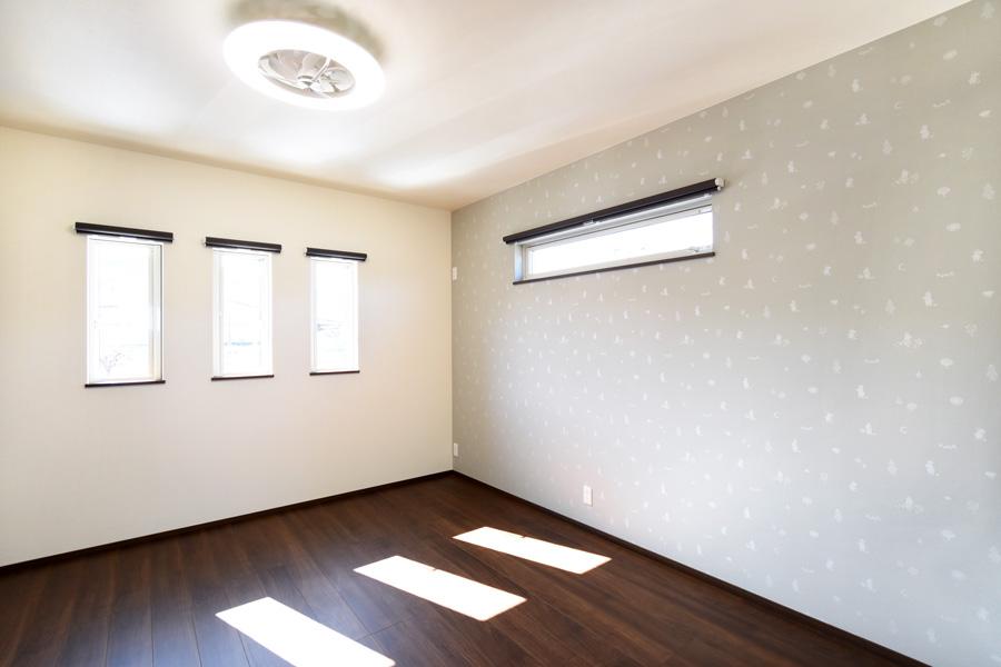 2021年3月15日社内検査_落ち着いた雰囲気の主寝室