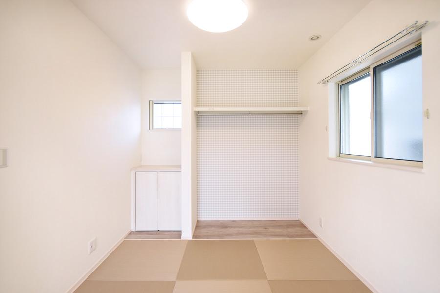 2021年3月18日社内検査2_クローゼットが可愛い和室