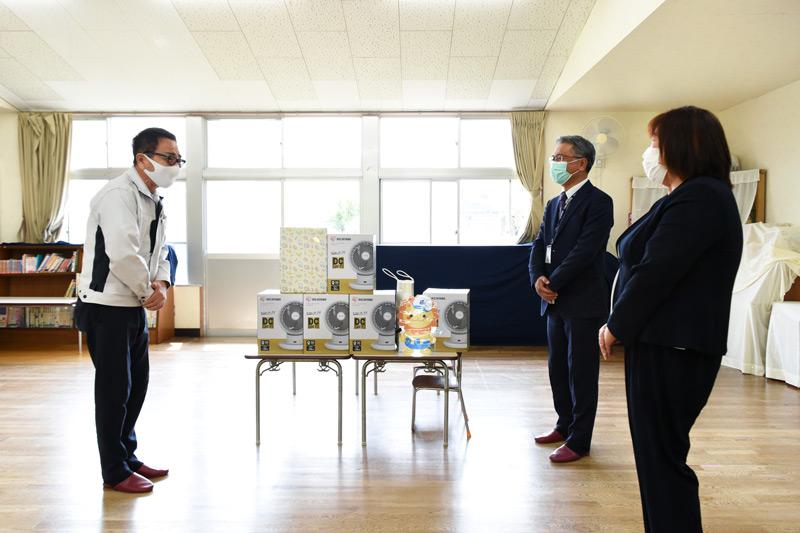 三島市立松本幼稚園に絵本やサーキュレーターを寄贈_プライムホーム