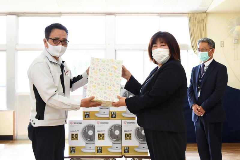 三島市立松本幼稚園に絵本を寄贈_プライムホーム