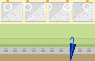 電車に置き忘れた傘