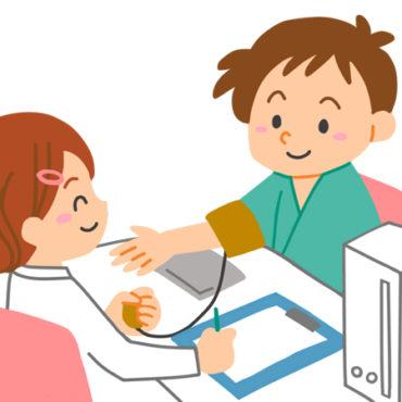 健康診断のイラスト