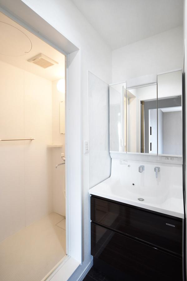 2021年6月10日社内検査_2階に配置したシャワールーム