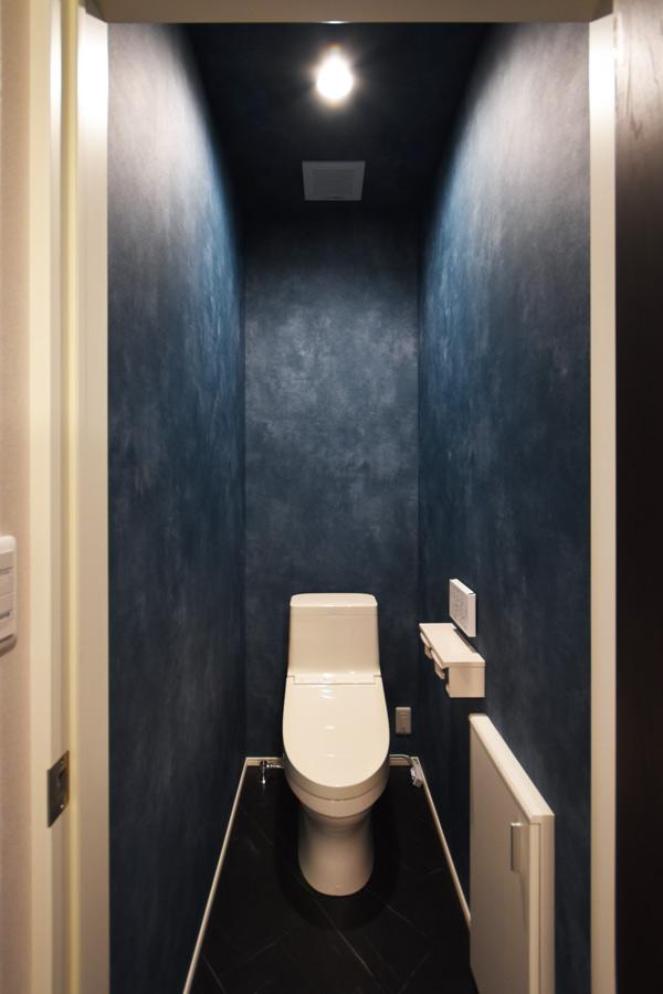 2021年6月29日社内検査_シックで落ち着いた雰囲気のトイレ