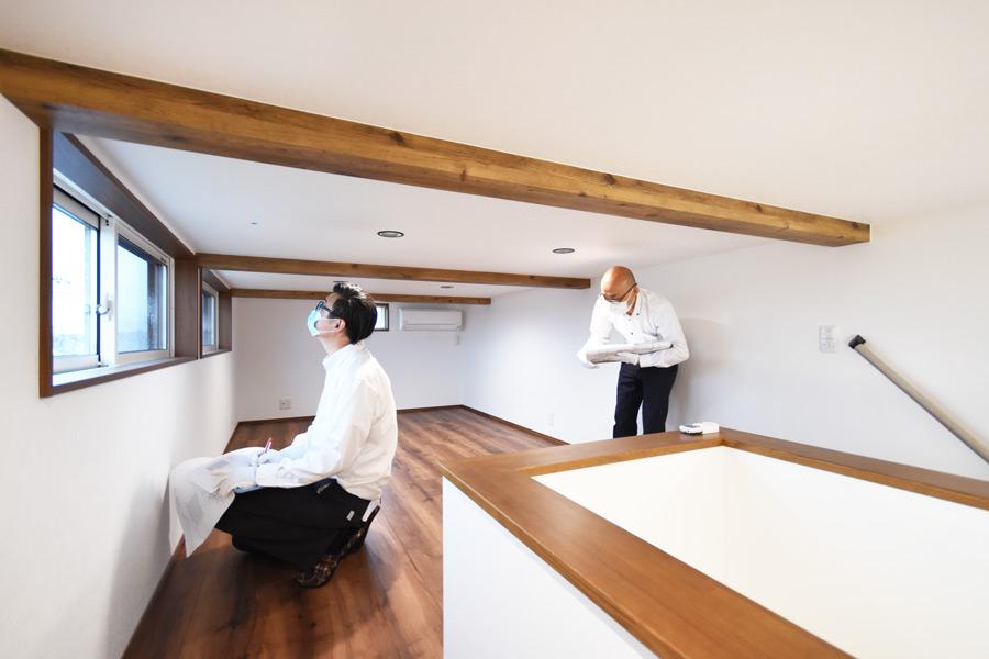 2021年7月2日社内検査_富士山を眺める事ができる小屋裏収納