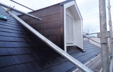 三島市S様邸の屋根塗装後