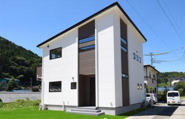 お客様の声_片流れ屋根のお洒落な外観_函南町の新築注文住宅